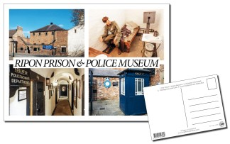 Ripon Prison and Police Museum Multiview Postcard