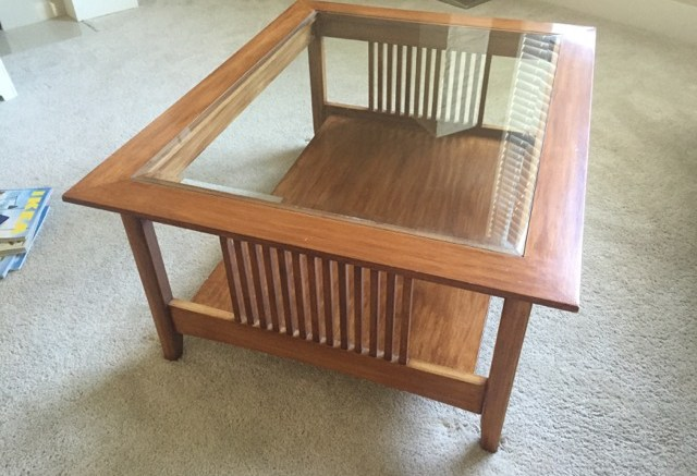 craftsman coffee table - mark's wood projects