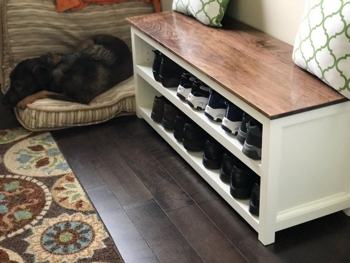 Shoe Storage Bench 19
