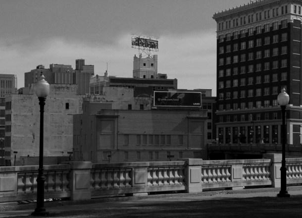 City Detail, b&w, May 2014