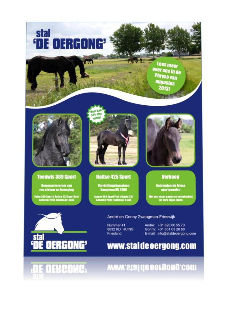 Advertentie Stal de Oergong CK 2013