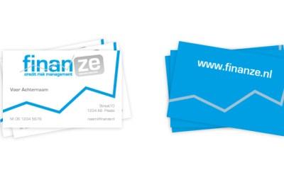 Logo en huisstijl voor Finanze