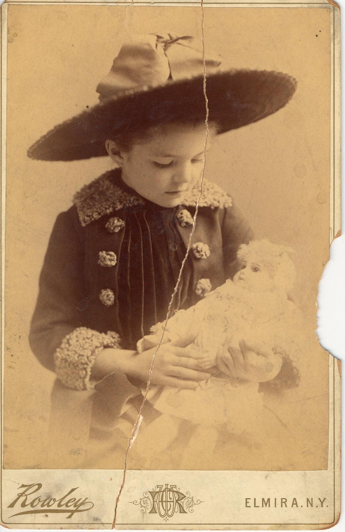 Ida Langdon, 7 yrs old 1887