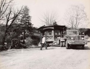 Moving the Study, 1952