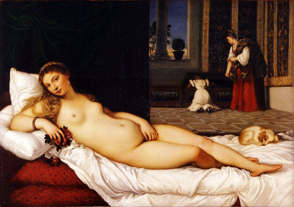 Venus of Urbino (1538) - Titian