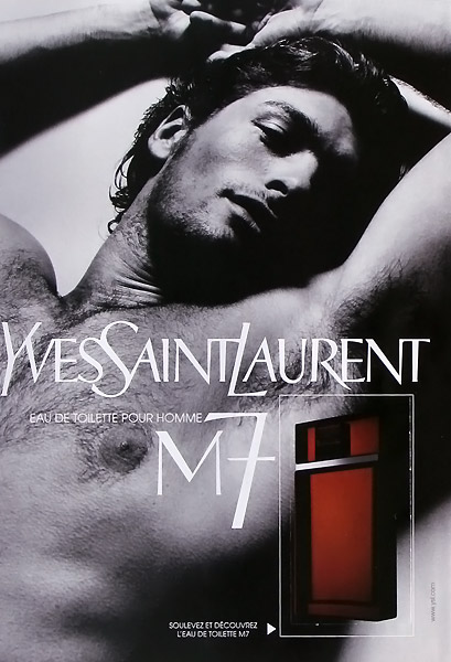 Yves Saint Laurent M7 Ad Campaign [Click Image to read about associated controversy]