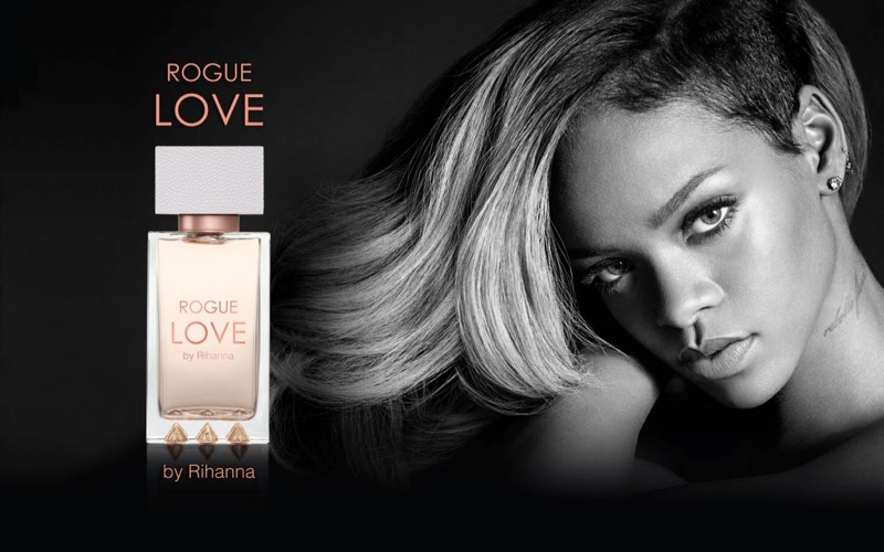 Rihanna Rogue Love Ad Campaign