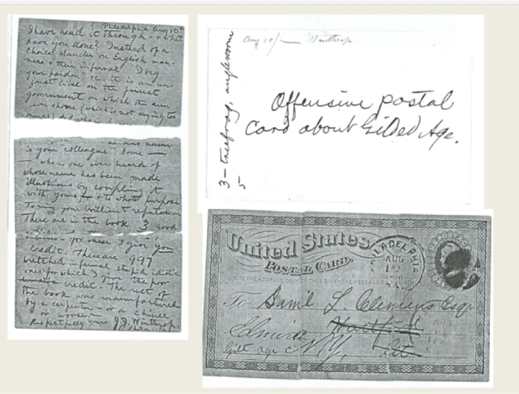 J. J. Winthrop to SLC, 10 Aug. 1874, Philadelphia, Pa. (UCLC 32034) Reproduced with permission. Further reproduction without express written permission is prohibited.