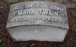 Updated Virtual Tour of Mark Twain's and Family's Gravesite Now Available