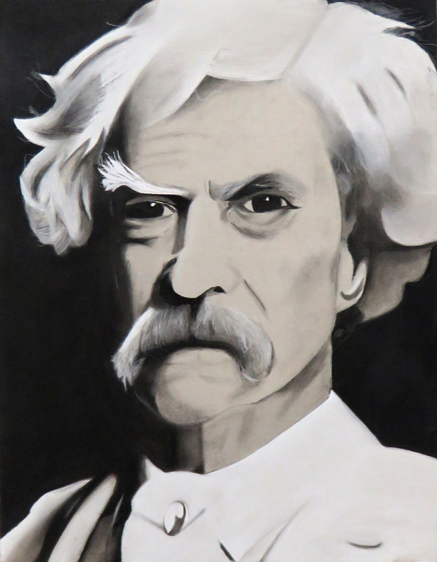 Mark Twain portrait