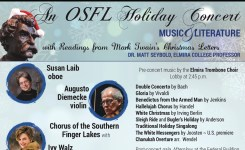 Perfect Pairings of Music & Literature: A Holiday Collaboration with The Orchestra of the Southern Finger Lakes