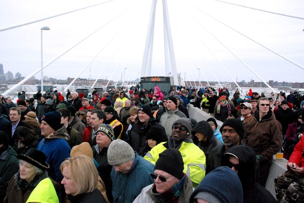 Stan Musial Veterans Memorial Bridge Opening
