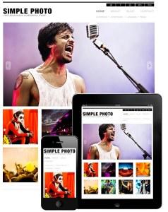 Simple Photo Responsive Theme | Premium Portfolio Responsive WordPress Themes - Dessign