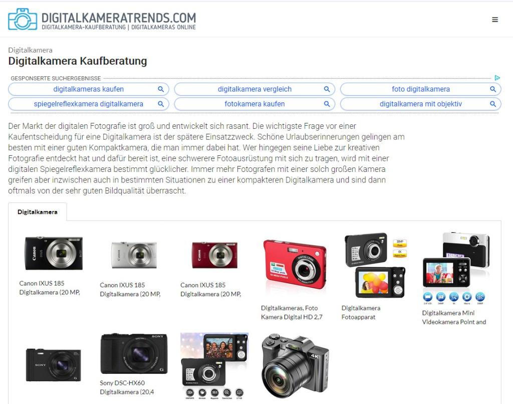 Kostenloses E-Book Digitalkamera Kaufberatung