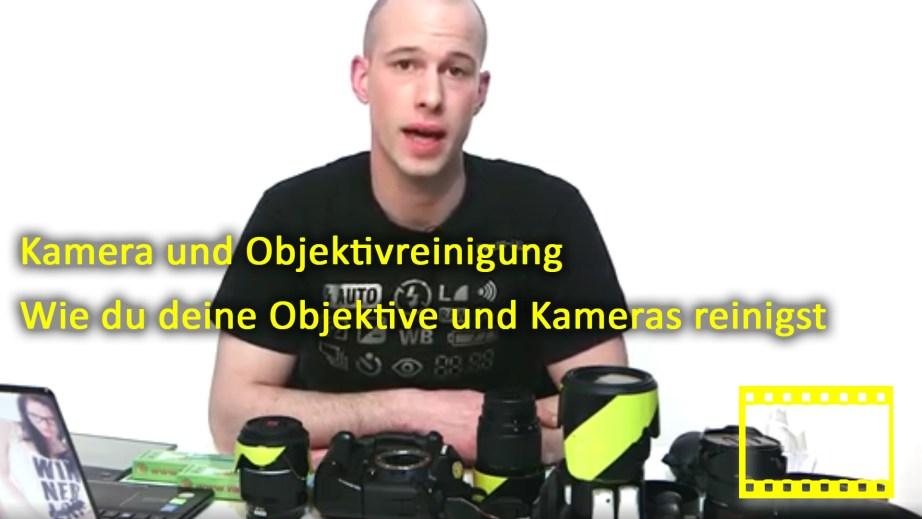 Kamera und Objektivreinigung
