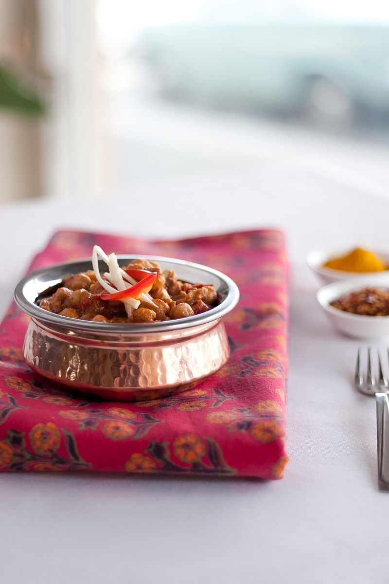 Stock Photography - Indian Food Chickpea Curry Channa Masala