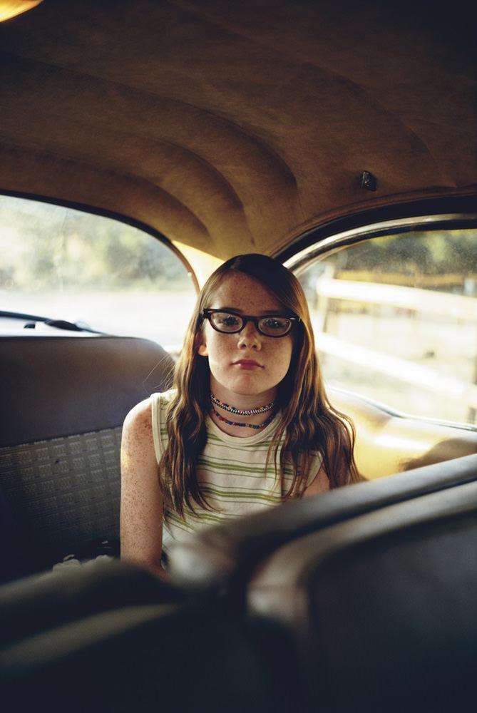 William Eggleston Girl in Car