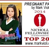 """""""Pregnant Pause"""" Reaches Nicholl Fellowship TOP 20%"""