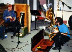 J.A. Deane and Stefan Dill   9 may 1999   Photo: Mark Weber   click to enlarge...