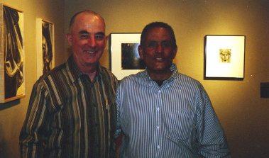 Two Bass Players -- David Parlato & Roberto Miranda -- April 12, 2004 -- Albuquerque -- photo by Mark Weber