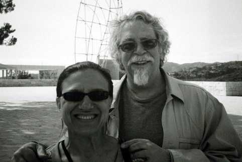 Mark & Janet -- February 6, 2011 -- Getty Museum, Los Angeles -- photo by Gary Cooper