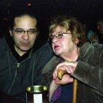 Chris Garcia and Dottie Grossman at Cafe 322 checking out the Bobby Bradford Mo'tet -- February 1, 2008 -- photo by Mark Weber