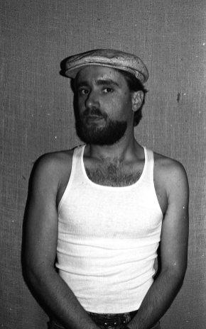James Kousakis, alto saxophonist -- June 7, 1983 -- photo by Mark Weber