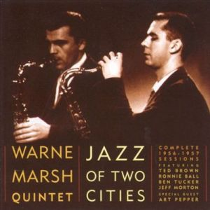 This 2-cd set is the most comprehensive of the Ted Brown-Warne Marsh 1956-1957 bands
