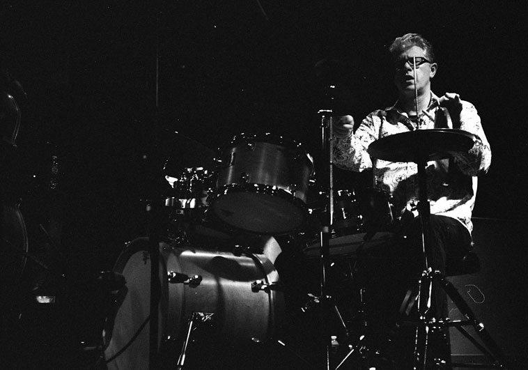 Matt Wilson ---- Outpost Performance Space, Albuquerque ---- March 29, 2o12 ---- photo by Mark Weber