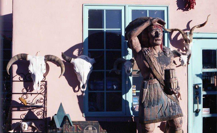 Santa Fe, February 19, 1995 -- photo by Mark Weber