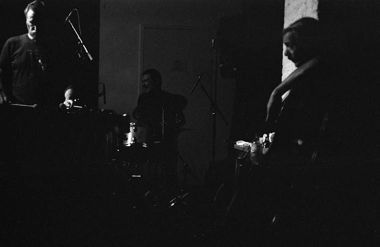 Kevin Norton, vibraphone; Roger Mancuso, drums; Ed Schuller, bass; with CC  in quartet at the Stone . . .  in the midst of it all, there is Connie like an ocean tide, surging and enveloping, rising with the moon, swirling up onto the rocks ---- August 22, 2o14 -- photo by Mark Weber