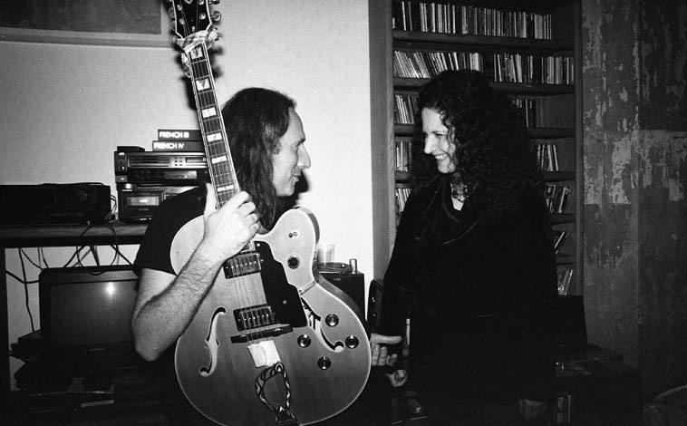 Adam Caine and Carol Liebowitz -- November 16, 2o14 -- photo by Mark Weber