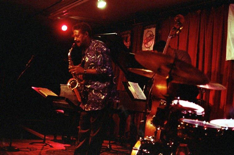 Charles McPherson ---- October 5, 1998 ---- photo by Mark Weber ---- As my friend Z says to me: If Lester Young is the Master of Time & Space (as I call him on my radio show), then, Ben Webster must be the Master of Mass & Volume -- Why stop there? It follows that Charlie Parker must be the Master of Weight & Velocity