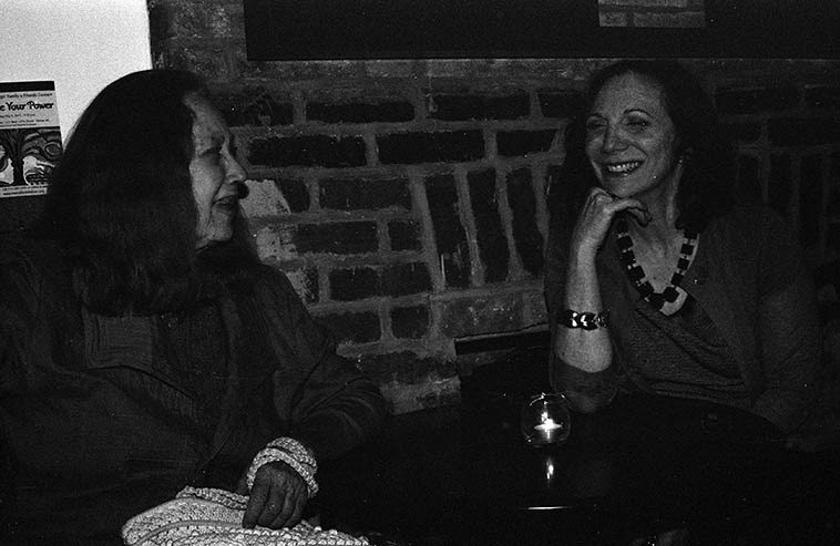 Connie Crothers & Andrea Wolper -- Brooklyn -- May 8, 2o15 -- photo by Mark Weber