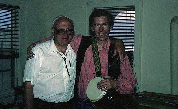 Todd Moore & Tony Moffeit -- Raton, New Mexico -- June 20, 1992 -- photo by Mark Weber