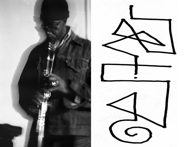 John Carter -- clarinet -- January 1977 at The Little Big Horn, Pasadena, California -- photo by Mark Weber