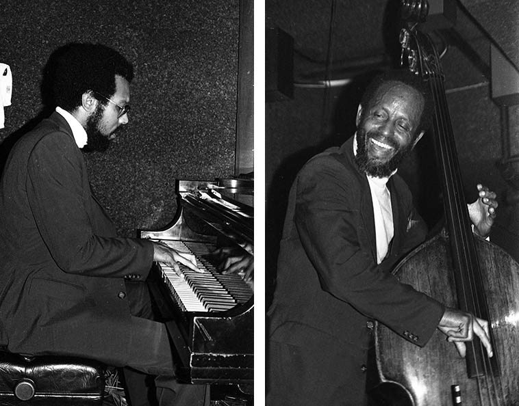 Percy Heath and Stanley Cowell -- September 27, 1979 -- photos by Mark Weber