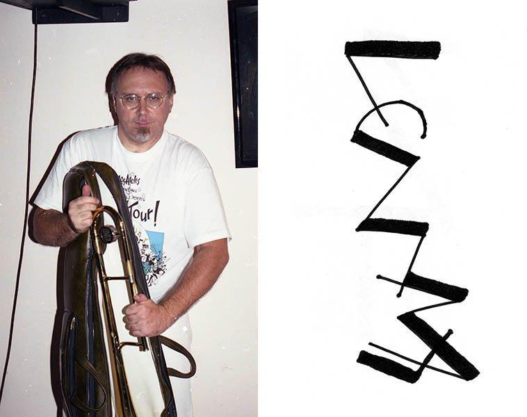 Michael Vlatkovich -- September 16, 1993 -- photo by Mark Weber