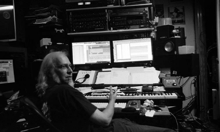 Wayne Peet at Newzone Studio, Los Angeles -- August 10, 2013 -- photo by Mark Weber