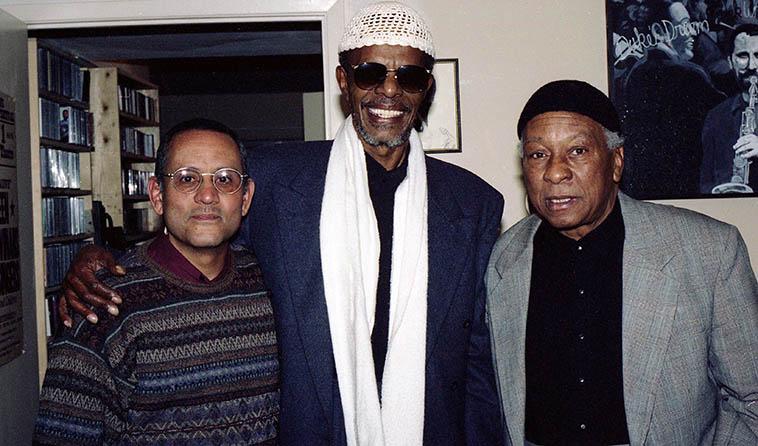 Roberto Miranda, Horace Tapscott, Frank Morgan