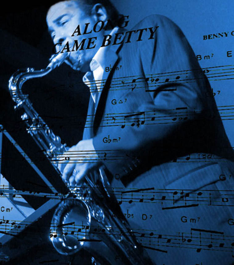 Benny Golson at Jazz Bakery in Culver City, Ca Photo and graphic by Cal Haines 1/11/2007