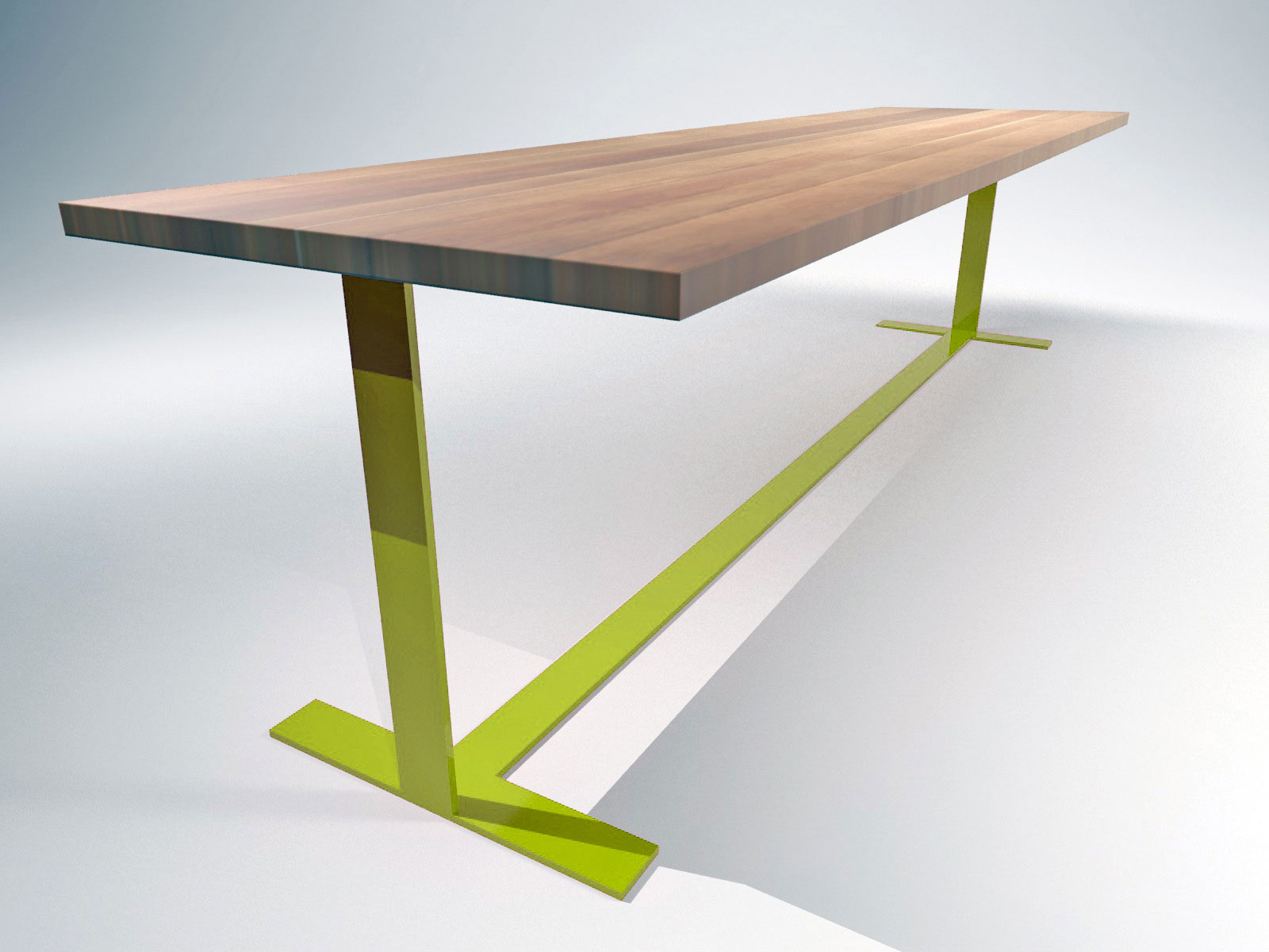 Tavola Table Green Mark White Inc