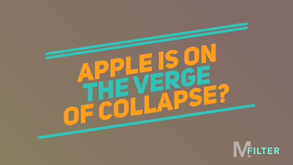 Featured image of Apple verge of collapse