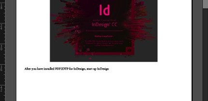 Markzware PDF2DTP pour Adobe InDesign CC Macintosh Windows conversion PDF