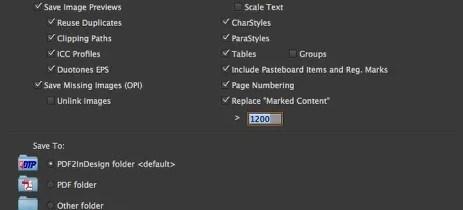 Markzware PDF2DTP pour Préférences InDesign CC Mac Win Général