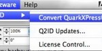 Convert QuarkXPress to InDesign with Markzware Q2ID