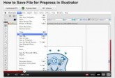 How to Save Files during Prepress in Adobe Illustrator ai