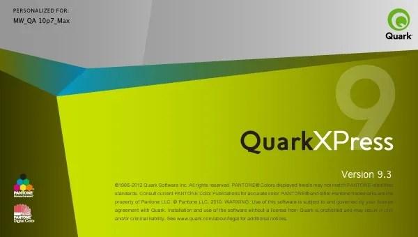 Markzware ID2Q InDesign to QuarkXPress Start Up QuarkXPress