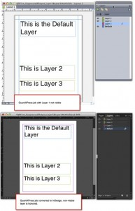Markzware Q2ID for InDesign CC Non-Visible Layers