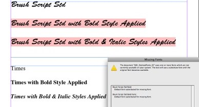 Markzware Q2ID for InDesign CS6 Stylized Fonts From QuarkXPress